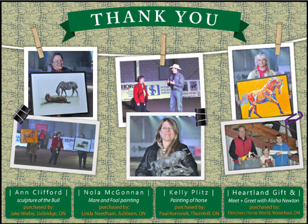 Thank you artist collage