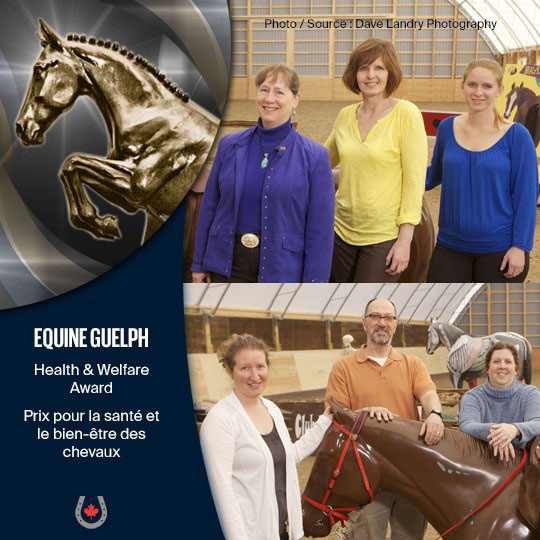 Equine Guelph the winner of the EC 2019 Health Welfare Award