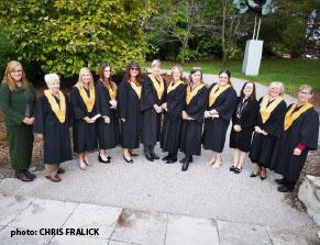 Equine Guelph 2019 graduation class