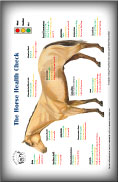 (button) Horse Health Check Poster