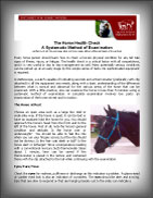 (button) Horse Health Check - information sheet