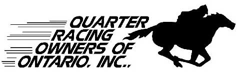 Quarter Horse Racing Owners of Ontario logo
