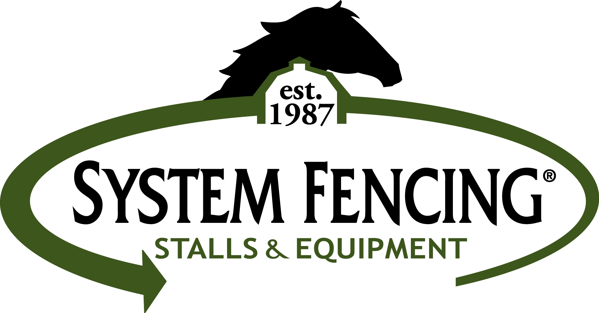 System Fencing Stall and Equipment logo