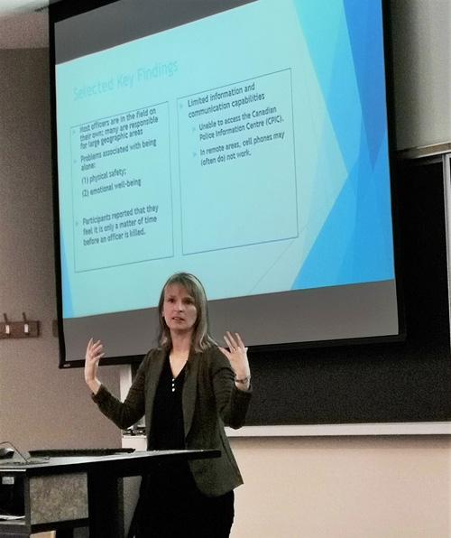 Kendra Coulter presentation