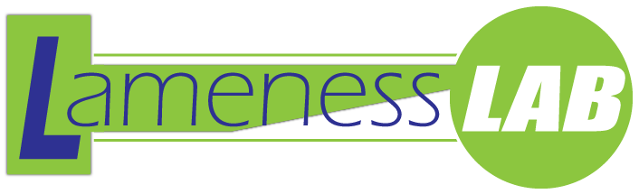 (button) Lameness LAB logo