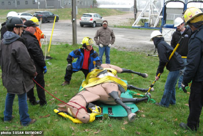 Technical Large Animal Emergency Rescue training for the Racing Industry