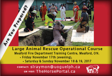 Meaford Large Animal Rescue Operational Course